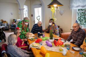 Karneval in der Birkenvilla in Vlotho